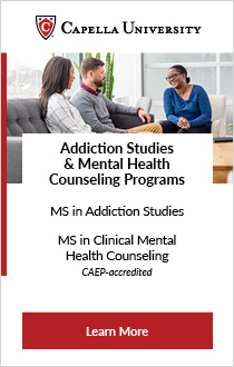 Capella University Addiction Counselor